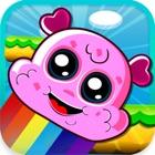 Ice Cream Blast – Rainbow Jump Carnival by Fun Free Kids Games icon