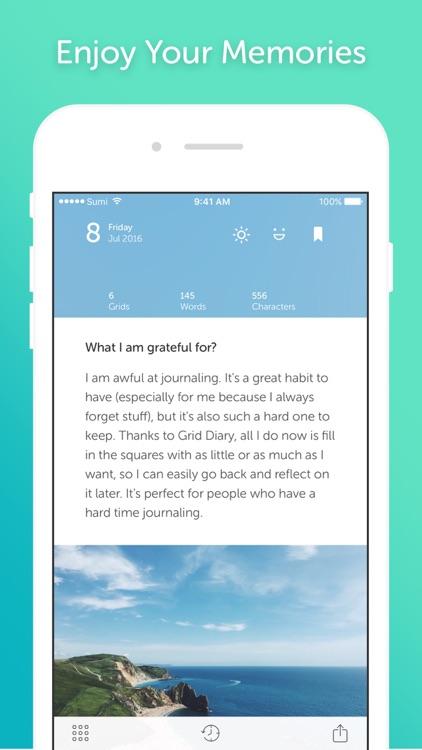 Grid Diary / Journal screenshot-4