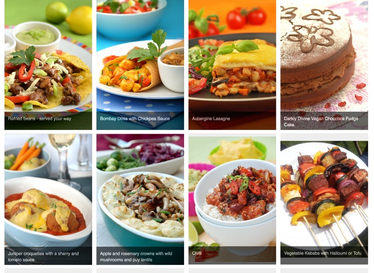 Vegetarian and vegan recipes screenshot-3