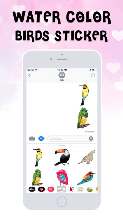 Birds Stickers! screenshot-3
