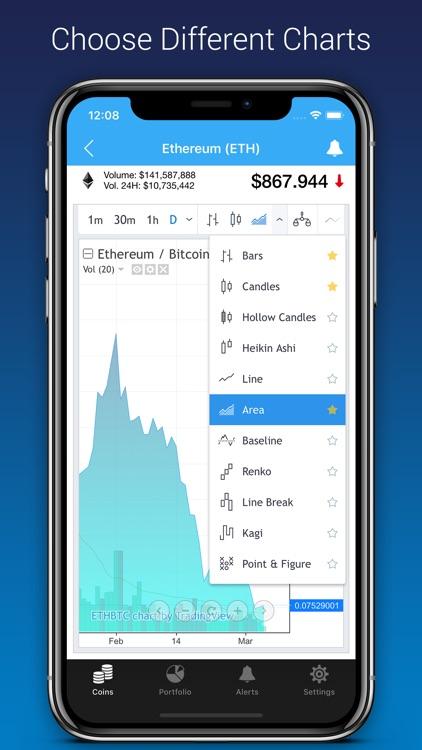 BitWatch - Cryptocurrency screenshot-6
