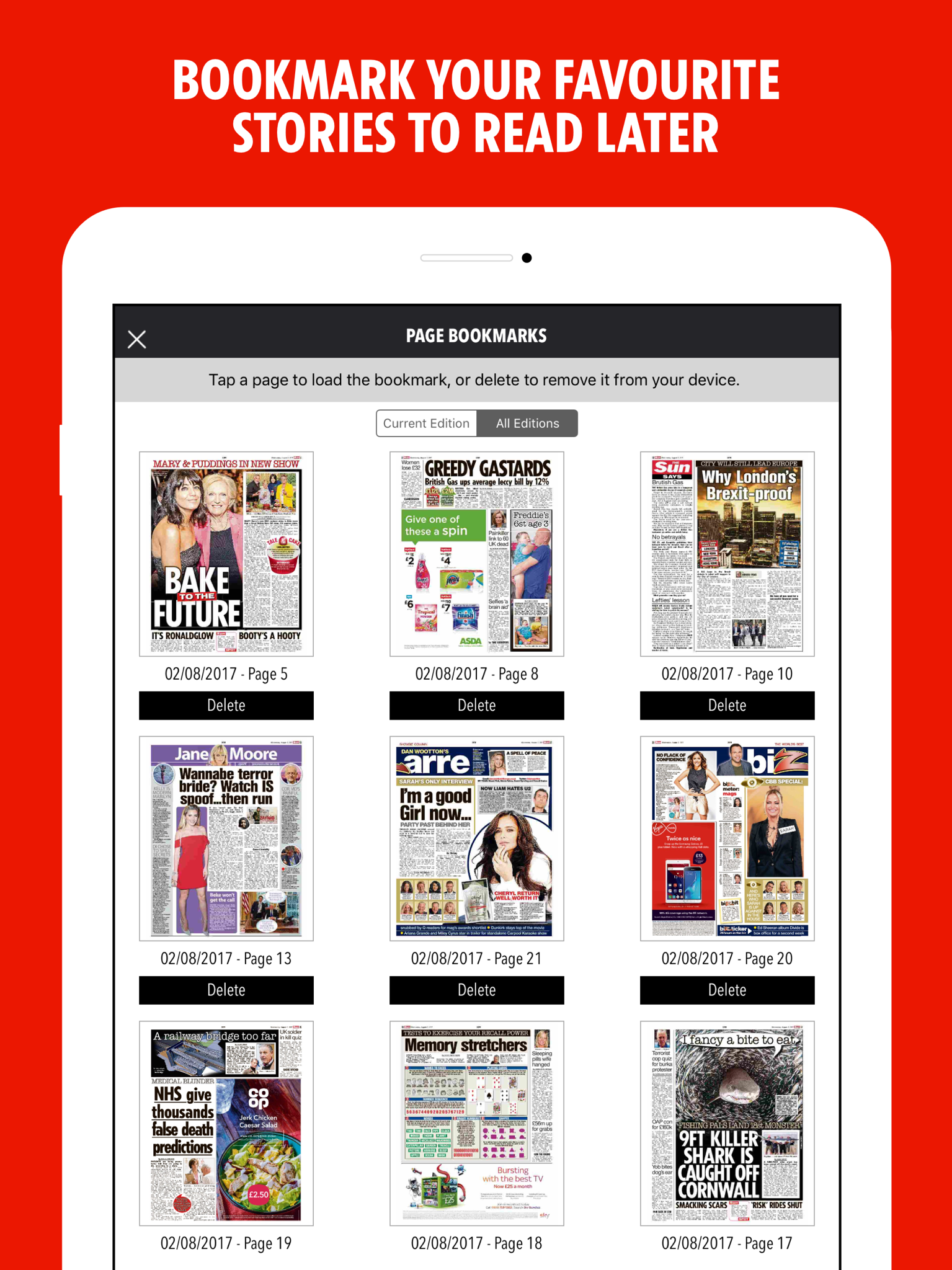 The sun newspaper uk app