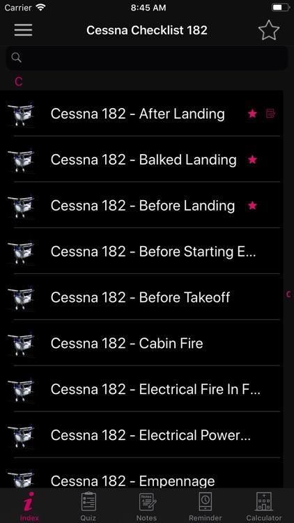 Cessna 182 Preflight Checklist screenshot-3