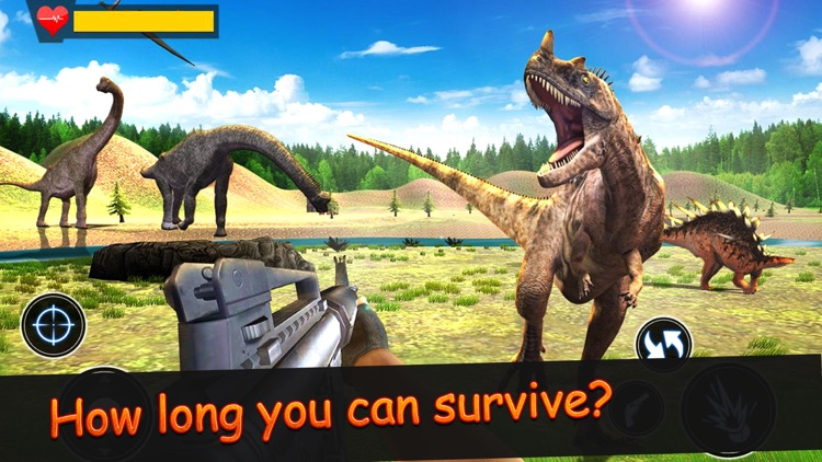 Dinosaur Hunt Jurrasic screenshot-5