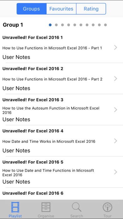 Unravelled! For Excel 2016 screenshot 2