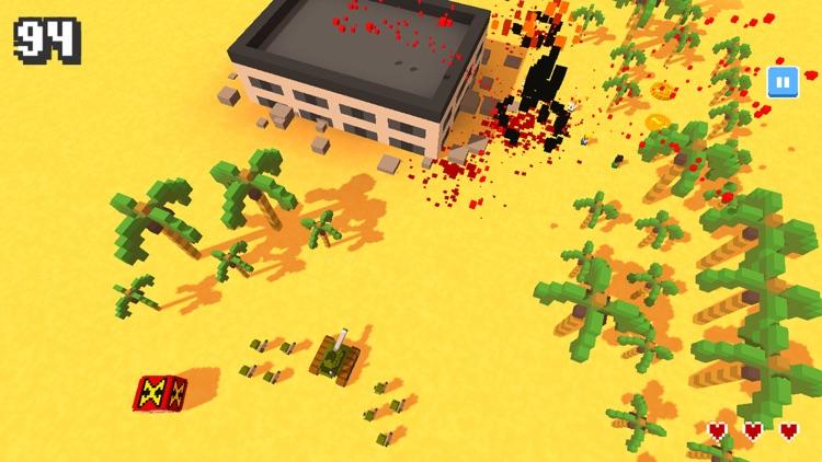 坦克大战-像素世界战场生存游戏 screenshot-3