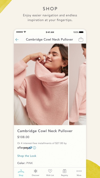 Anthropologie screenshot-0