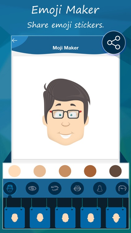 Emoji Maker : Moji Face Maker screenshot-3