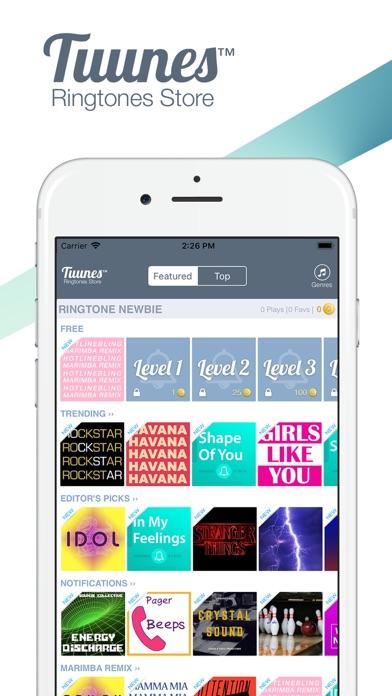 download TUUNES™: Sonneries pour iPhone apps 3