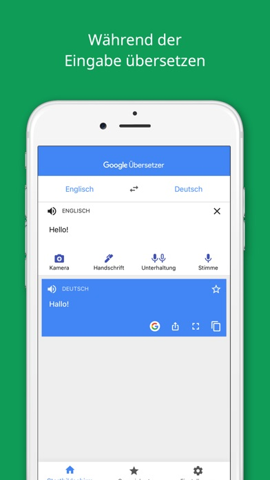 Screenshot for Google Übersetzer in Germany App Store