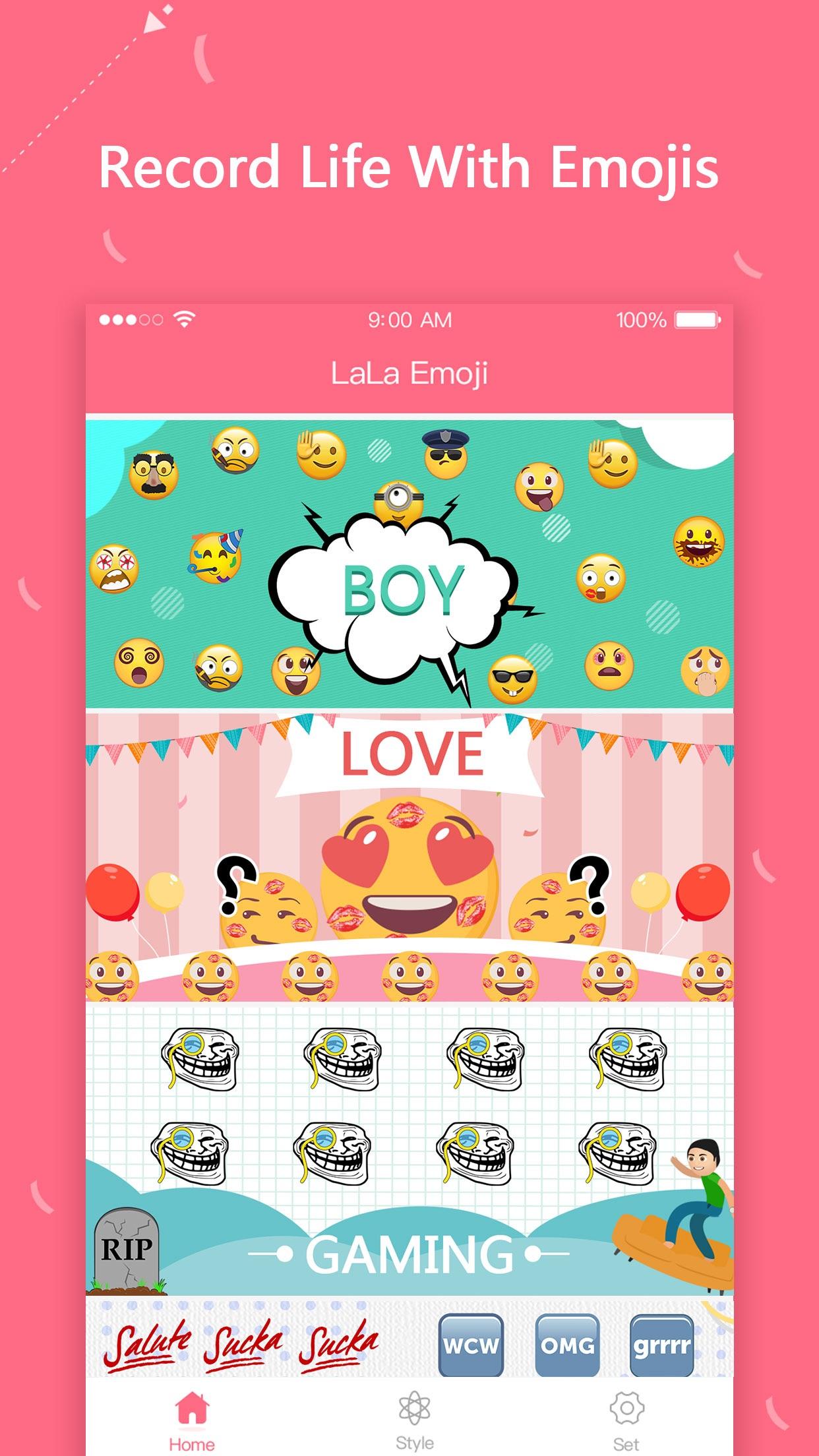 LaLa Emoji Screenshot