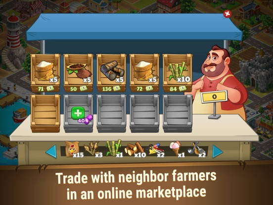 Farm Dream: Farming Sim Game-ipad-3