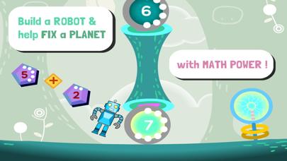 Robo Math Age 6 - 8 Liteのおすすめ画像1