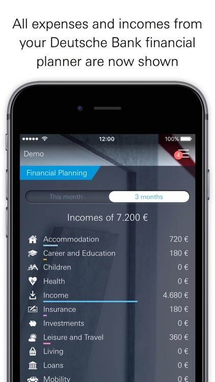 Deutsche Bank: Online Banking for all accounts screenshot-3