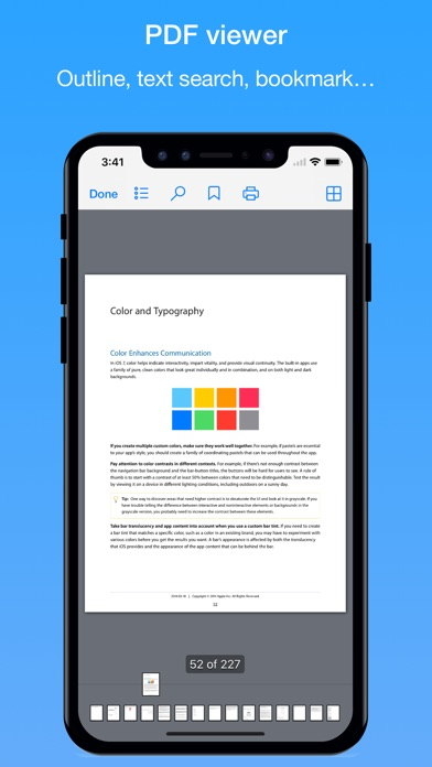Screenshot #3 pour File Hub Pro by imoreapps