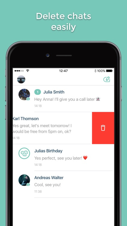 FreeMessage - secure Messenger screenshot-4