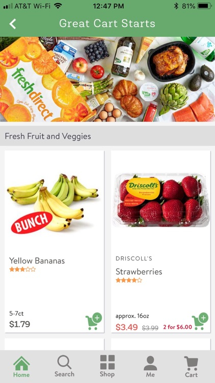 FreshDirect screenshot-2