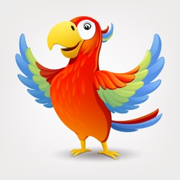 Parrot Stickers For iMessage