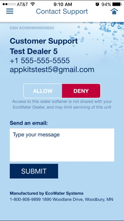 EcoWater Systems Wi-Fi Manager screenshot-3