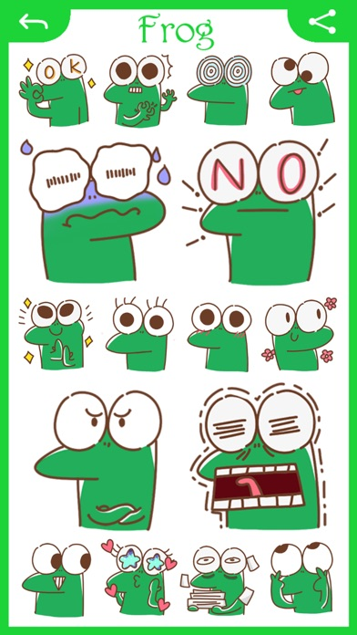 Screenshot for Stickers for iMessage! All Ver in Mexico App Store