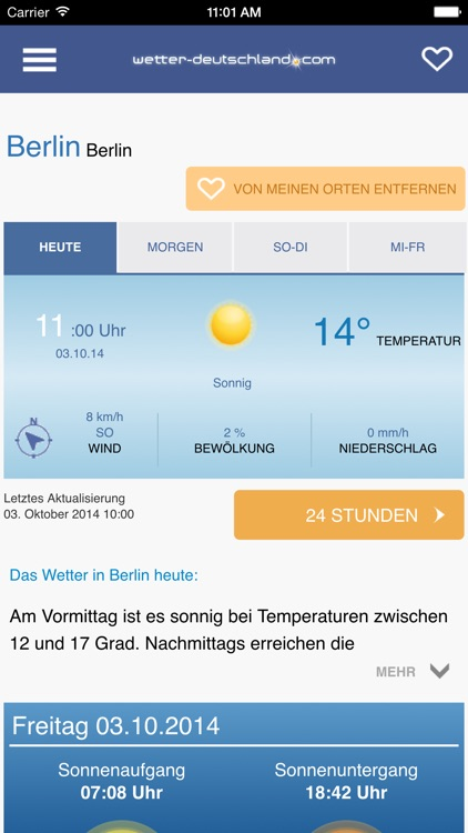 Wetter DE screenshot-2