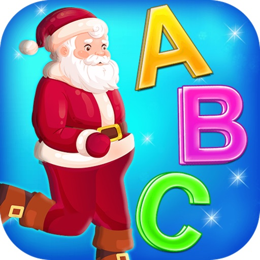 Santa Run - Learning FlashCard icon