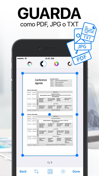 iScanner - Escáner PDF