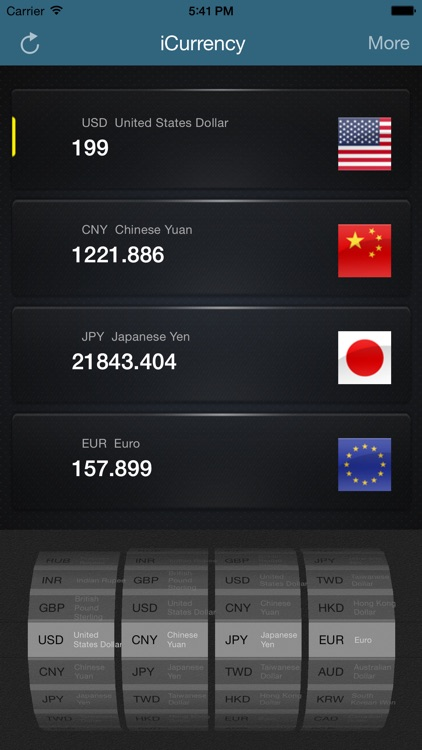iCurrency-Exchange Rate