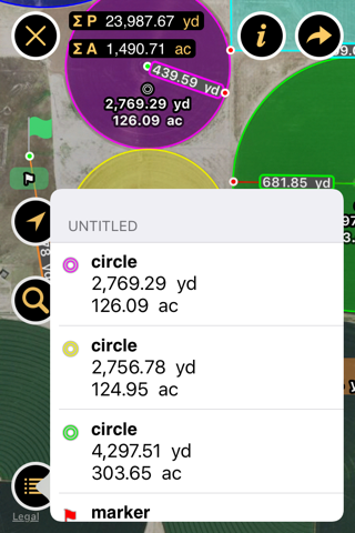 Planimeter - Measure Land Area & Distance on a Map screenshot 4