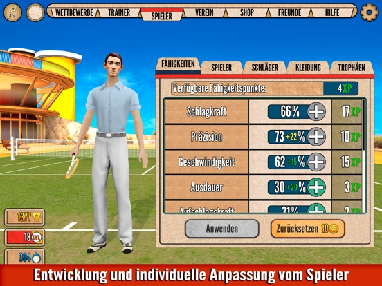 Screenshot 3 World of Tennis: Goldene 20er