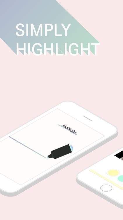 Highlight - Book Diary