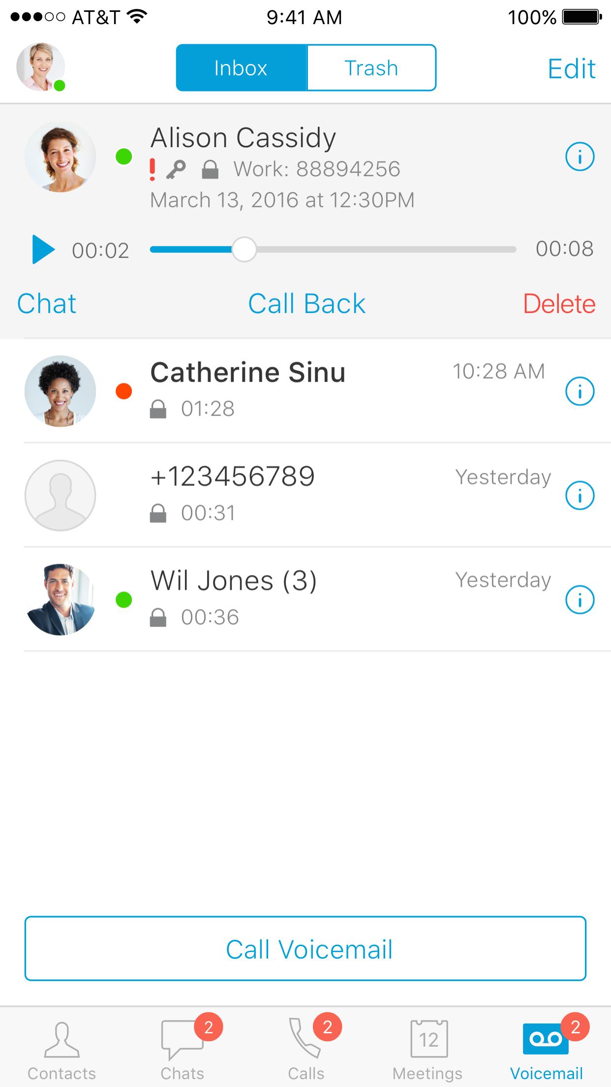 Cisco Jabber Screenshot