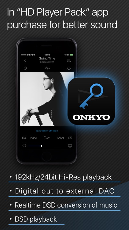 Onkyo HF Player - Hi-Res Music screenshot-4