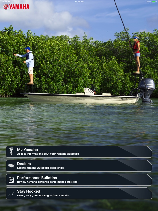 Yamaha Outboards on the App Store