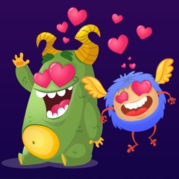 Valentines Day Love Monsters