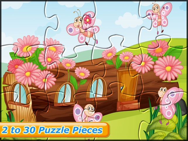 Insects Puzzle Games for Kids Screenshot
