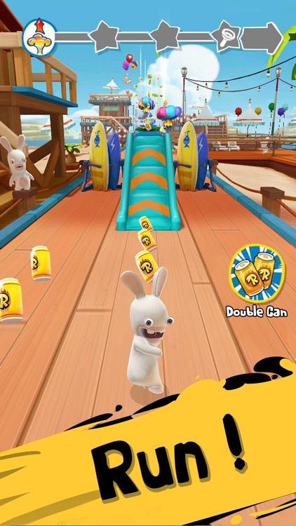 Rabbids Crazy Rush screenshot-0