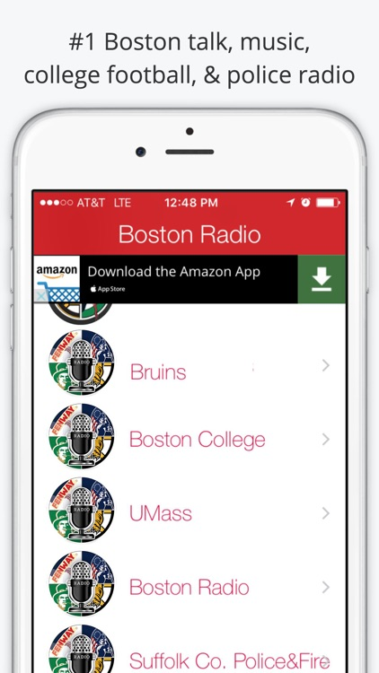 Boston GameDay Radio For Patriots Red Sox Celtics screenshot-2