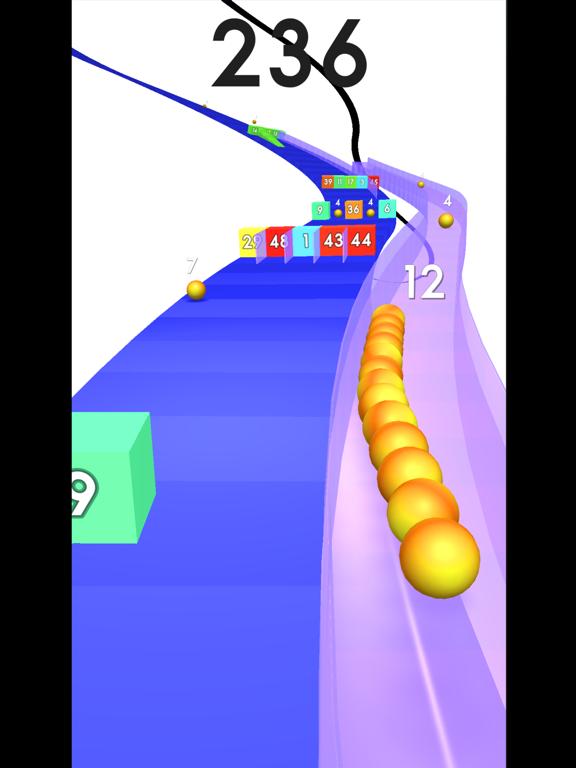 Snake Coaster vs Block screenshot 7
