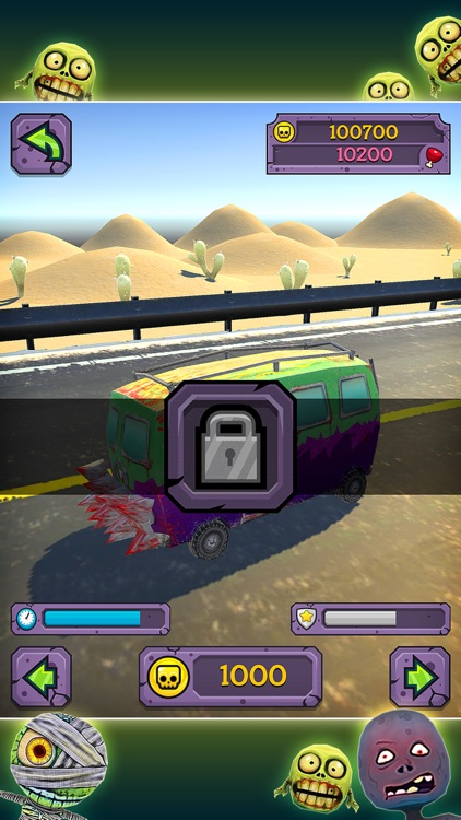 Truck Zombie Game screenshot-4