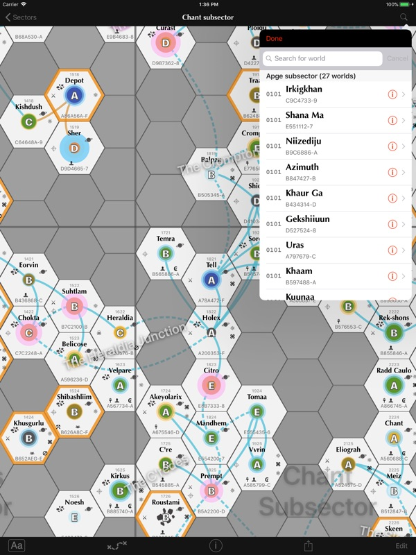 Sector - SciFi RPG map tool - Online Game Hack and Cheat