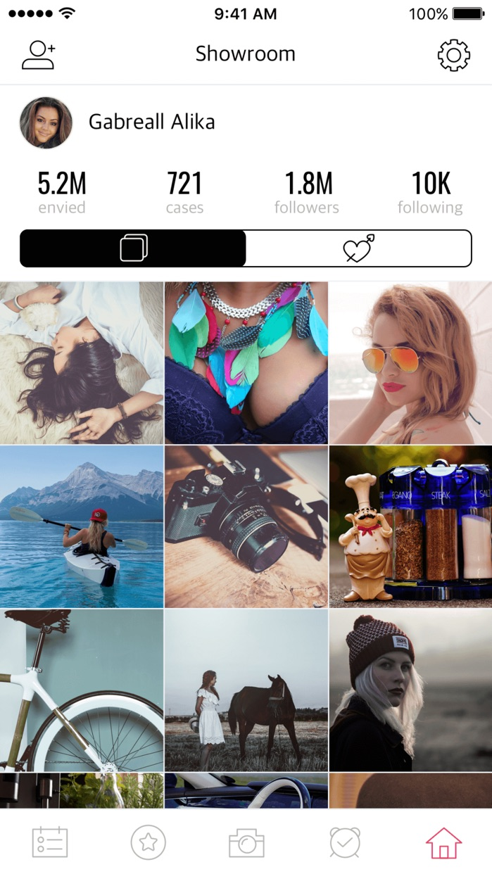 Envicase - Personal Showroom Screenshot