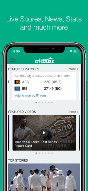 how to watch live cricket in iphone