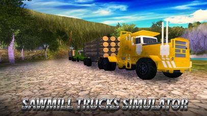 Sawmill Trucks Simulator screenshot 1