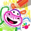 少儿画画游戏婴儿童游戏早教幼儿游戏涂色动物宝宝3岁-6岁