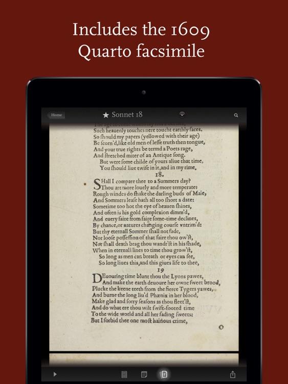 Shakespeare's Sonnets screenshot-4