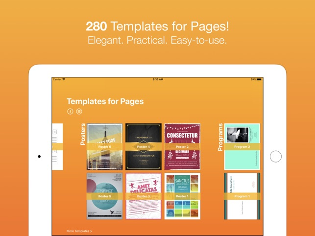 Templates for pages nobody on the app store yadclub Gallery
