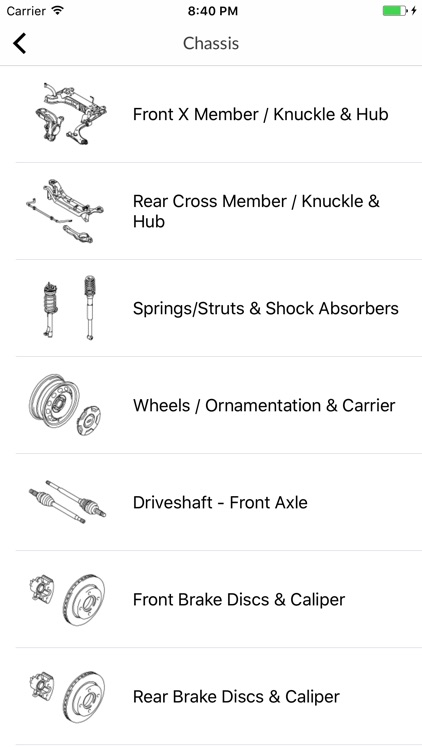 Car parts for Ford screenshot-4