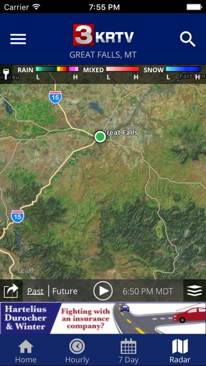 KRTV STORMTracker Weather App
