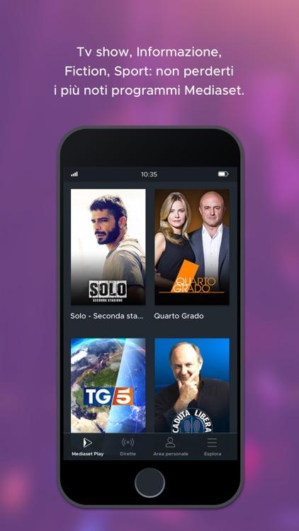 Mediaset Play screenshot-5